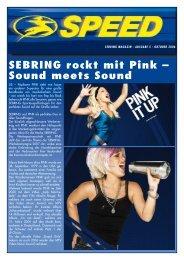 SEBRING rockt mit Pink – Sound meets Sound