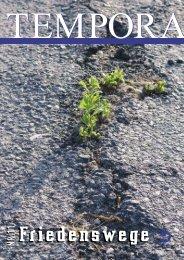 Komplette Ausgabe als PDF - tempora.org