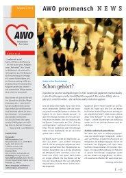 Info-Brief 1/2011. - AWO promensch