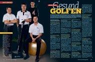 GOLF & MEDIZIN neue serie - Stefan Quirmbach Golfschule