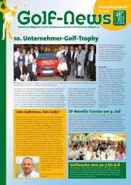 10. Unternehmer-Golf-Trophy - Donau Golf Club Passau-Raßbach e.V.