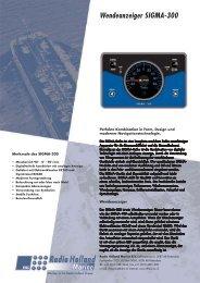 Wendeanzeiger SIGMA-300