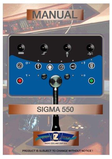 Sigma 550 Autopilot