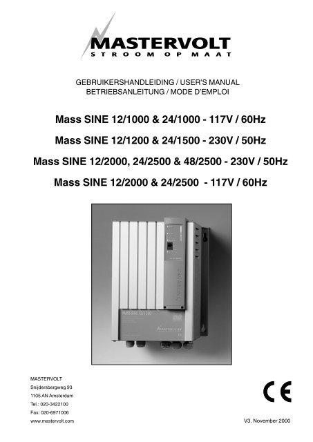 Mass Sine 121000 241000