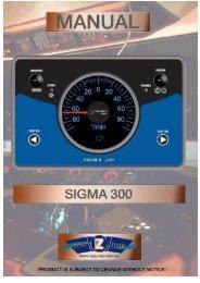 Sigma 300 Wendeanzeiger