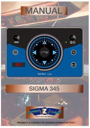Sigma 345 elektromagnetischer Kompass