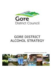 Cover Page - Gore District Council