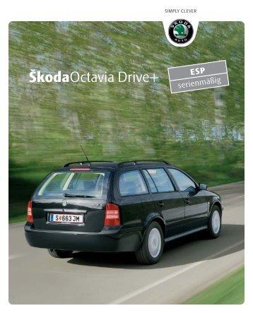 Octavia Drive+ Folder (275,5 KB) - Skoda