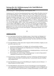 07-1 Abfallentsorgung - Billerbeck