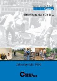 Jahresbericht 2010 zur Umsetzung des SGB II - Kreis Coesfeld