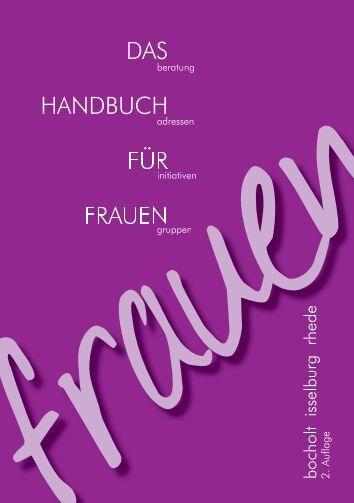 DAS HANDBUCH FÜR FRAUEN - Bocholt