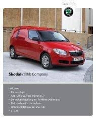 RZ_PreisblattPraktik Company1209 - Skoda