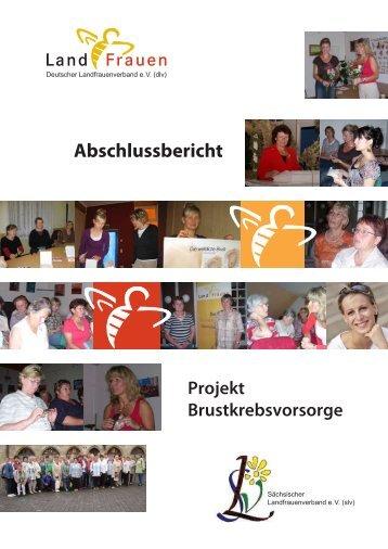Abschlussbericht - Sächsischer Landfrauenverband eV