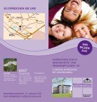 Ausbildung zum / Gesundheit - Diakoniekrankenhaus Chemnitzer ...