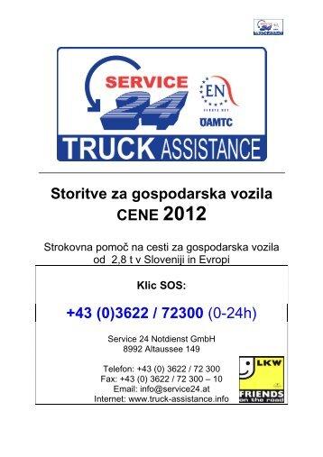 +43 (0) - Service 24 Österreich