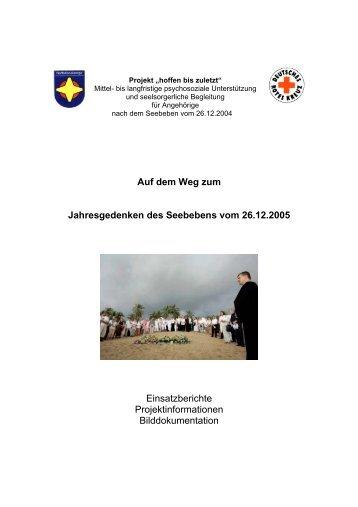 Hoffen bis zuletzt - Notfallseelsorge in Deutschland