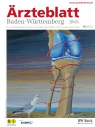 Ärzteblatt Baden-Württemberg 10-2012 [PDF] - Landesärztekammer ...