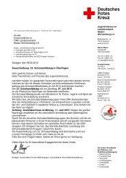 Verbindliche Fax-Anmeldung zum 23. Schulsanitätstag