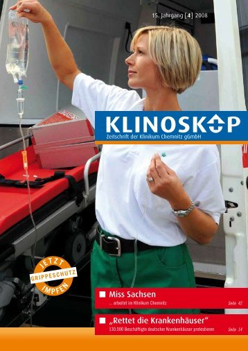 Klinoskop Nr. 4/2008 ( 2.2 MB im PDF - Klinikum Chemnitz