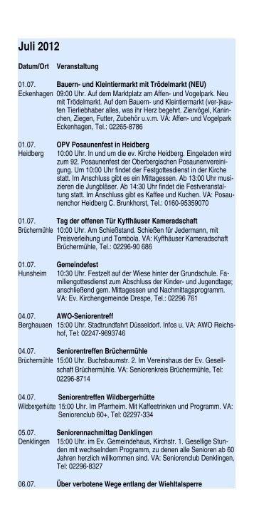 Juli 2012 - Gemeinde Reichshof