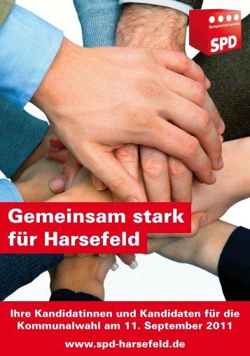Gemeinsam stark für Harsefeld - des SPD-Ortsvereins in Harsefeld