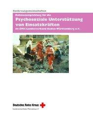 Rahmenempfehlung für den - DRK Landesverband Baden ...