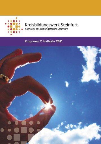 Programm 2.2011 - Katholische Kreisbildungswerke im Bistum ...