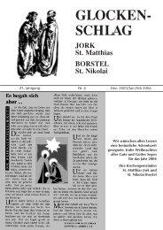 glocken - Unsere Kirchengemeinden im Alten Land - Kirche Altes ...