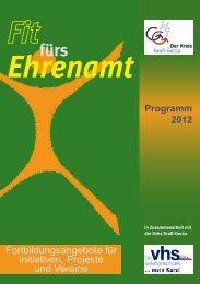 Ehrenamt - Kreisvolkshochschule Groß-Gerau