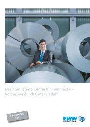 Das Kompetenz-Center für Feinbleche - EMW Eisen- und ...