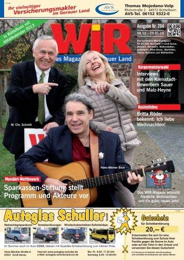 8,99 - Das WIR-Magazin im Gerauer Land