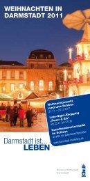 WEIHNACHTEN IN DARMSTADT 2011 - LOOK & BOOK