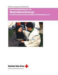 Rahmenempfehlungen Notfallnachsorgedienst - DRK ...