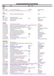 Veranstaltungskalender 2010 Stand 10.08.2010 ... - der Stadt Ahlen