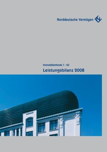 Leistungsbilanz 2008 - Norddeutsche Vermögen Holding