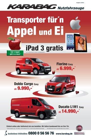 iPad 3 gratis - Karabag