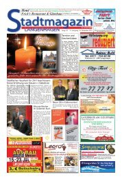 Stadtmagazin Langenhagen, Ausgabe 22 vom 16. Dezember 2010