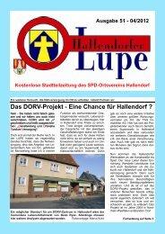 LUPE51-Online - SPD-Hallendorf