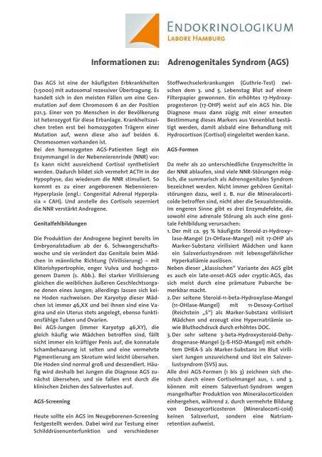 AGS - Endokrinologikum