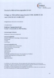 Anlage zur Akkreditierungsurkunde D-ML ... - Endokrinologikum