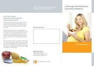 Schwangerschaftsdiabetes (Gestationsdiabetes) - Endokrinologikum