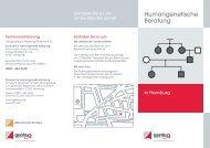Humangenetische Beratung in  Hamburg - Endokrinologikum