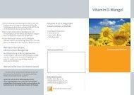 Vitamin D-Mangel - Endokrinologikum