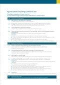 Agenda Cloud Computing Conference 2011 - Cloud-Practice.de - Seite 3