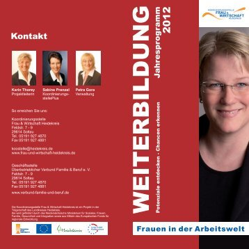 inweterb il dug - Koordinierungsstelle Frau & Wirtschaft Heidekreis