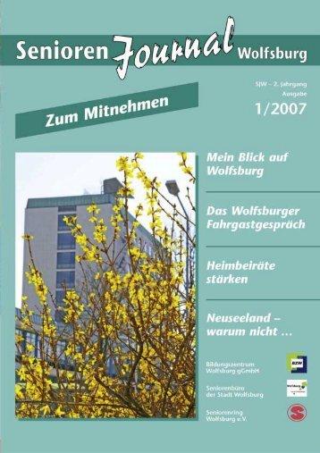 Seniorenjournal 1, 2007 (PDF-3,67MB) - Wolfsburg
