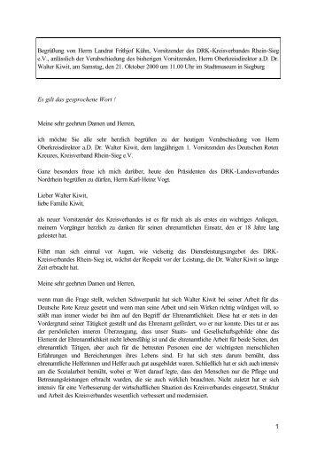 001021 Verabschiedung Dr. Kiwit DRK - Rhein-Sieg-Kreis