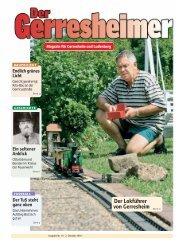 Magazin für Gerresheim und Ludenberg - Panorama-Online