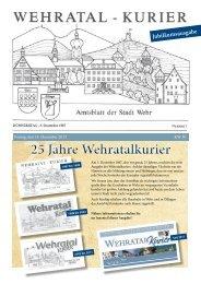 Ausgabe vom 14. Dezember 2012 - Stadt Wehr, Baden