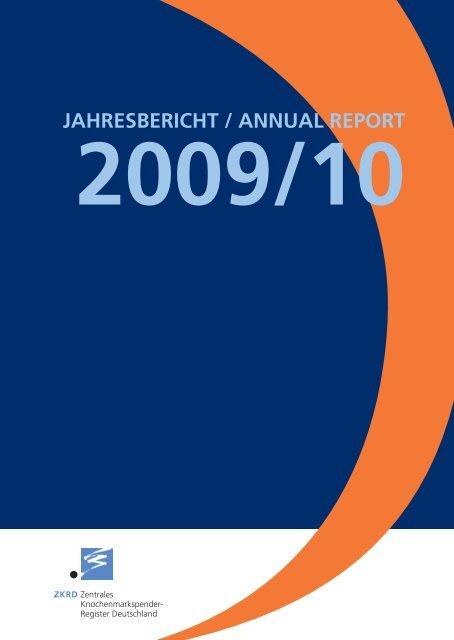 Jahresbericht 2009-2010 - ZKRD